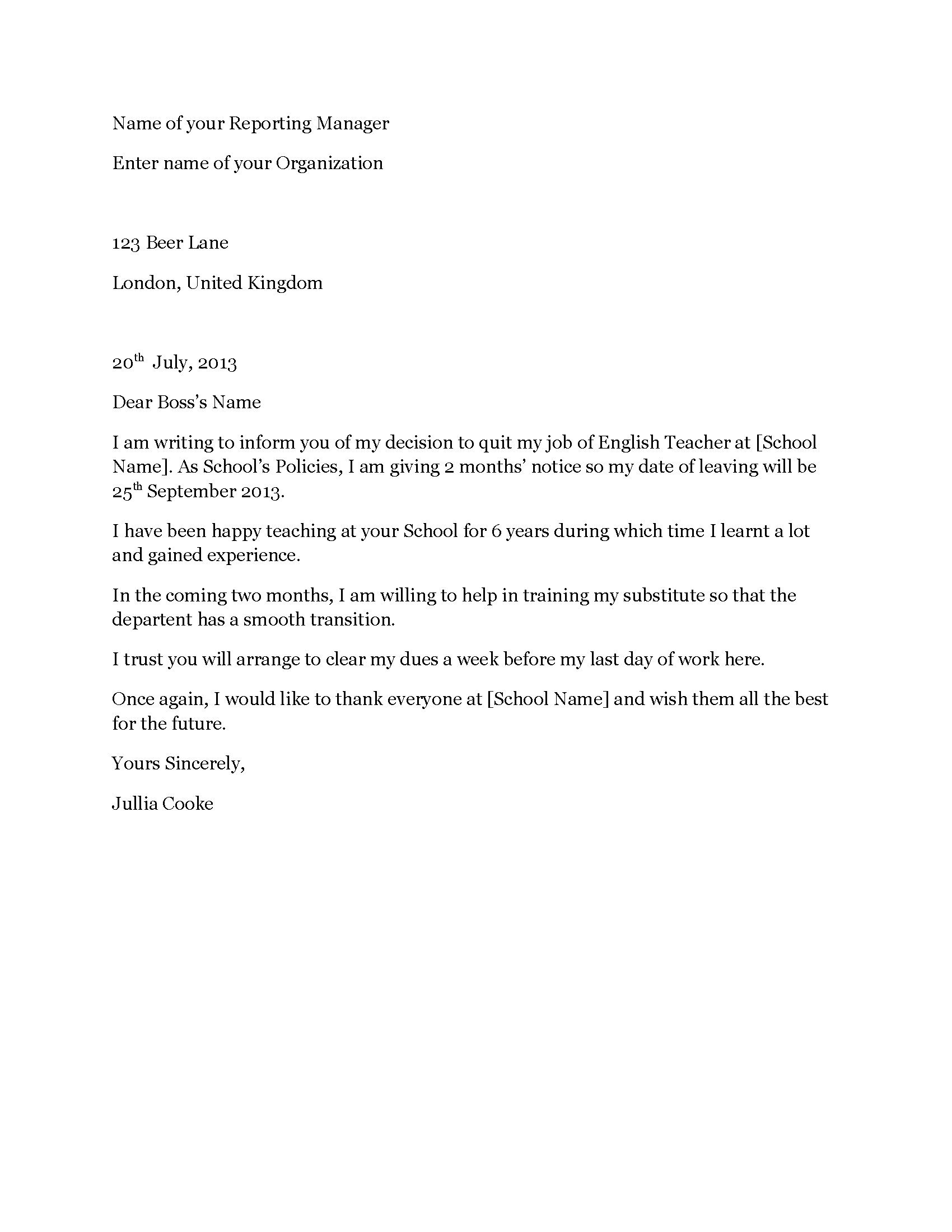 Teacher resignation letter uk accounts executive resume format resignation letter teacher resignation letter 3 wwwresignationletterscouk teacher resignation letter uk teacher resignation letter uk spiritdancerdesigns Image collections